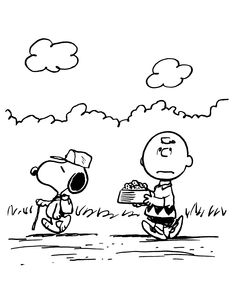 Snoopy en Charlie Brown
