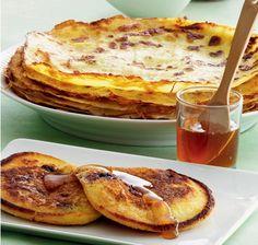 Tykke og tynde pandekager