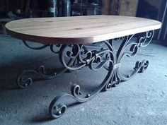 Forged table