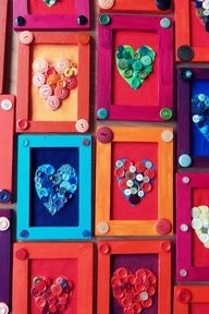 3rd mothers day popsicle stick picture frame - Google Search