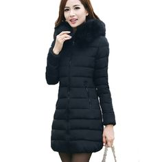 Holiday Season Sale. 2017 women winter hooded warm down jacket female plus size 5XL 6XL coat ladies outerwear parka long padded chaqueta feminina ** Shop 4 Xmas n 2018. Just click the VISIT button for AliExpress.com.