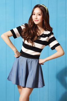 Ulzzang fashion #SNSD #Jessica