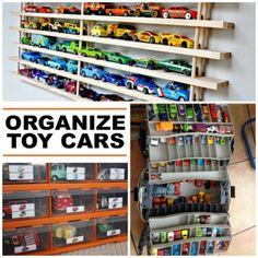 15 Clever Toy Car Storage Ideas