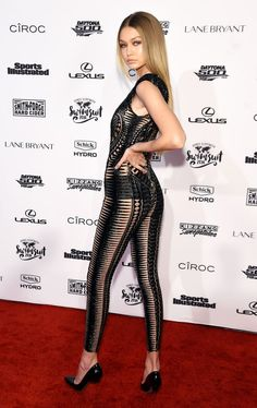 Gigi Hadid's Sheer Jumpsuit on the Red Carpet: Love It or Hate It?