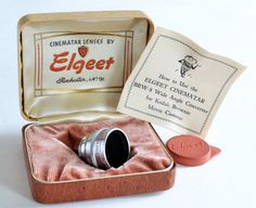 Elgeet Wide Angle Cine Lens for Kodak Brownie 8mm Cine by MagsandI