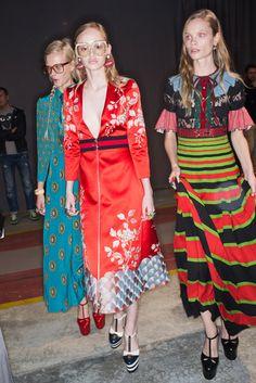 2016春夏プレタポルテコレクション - グッチ(GUCCI)バックステージ|コレクション(ファッションショー)|VOGUE