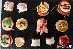 Un clásico de la cocina que no debe faltaros, unas deliciosas recetas de canapés fáciles de preparar.
