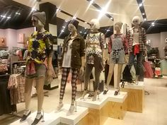 Trend: Skate away Mannequin styling