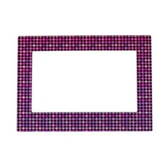 Fancy Art Styles Picture Frame Magnet