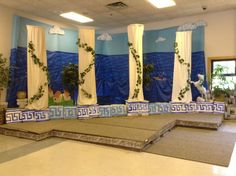 The main area for Athens VBS Celebration.