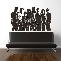 kik2966 Wall Decal Sticker series walking dead living room bedroom