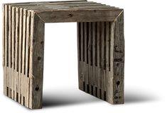 vægterdesign.dk | tralle bænk, tralle skammel, 8x8 tømmerbænk