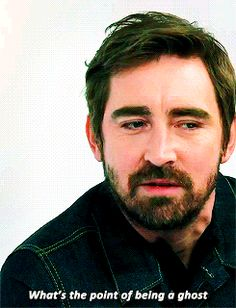That time he was asking all the important questions. | 25 Times Lee Pace Won Your Heart In 2014