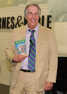 "Henry Winkler, is a successful dyslexic.  Famous as ""The Fonz"" he is now a children's author and advocate for dyslexia."