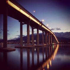Tasman Bridge, #Hobart, #Tasmania, #Australia | 18-Day Holiday Australia And New Zealand | #Travel #Cruises Tasmania Hobart, Cruises, New Zealand, Bridge, Bucket, Australia, Holiday, Photos, Travel