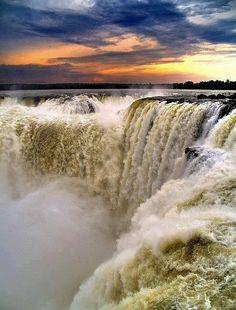 The Iguazu Waterfalls, Brazil by diegoandre Flickr