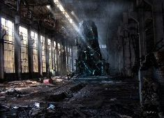 ruins buildings apocalypse artwork wishgranter wish granter - Wallpaper ( / Wallbase. Image Hd, Cthulhu, Apocalypse Landscape, Apocalypse Now, Apocalypse Aesthetic, Post Apocalyptic Art, High Resolution Wallpapers, Chernobyl, Nature