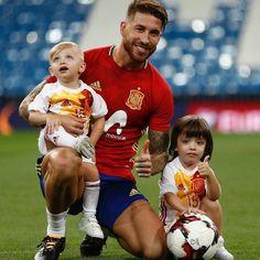 Sergio Ramos. Spain NT