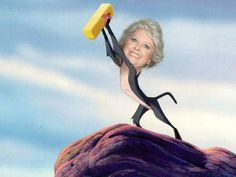 Paula Dean - I'm not sure why this made me laugh so hard, probably my love inexplicable love of disney and butter