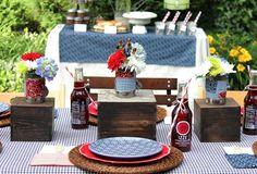 Cute table settings!