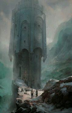 Sacrifice Tower https://www.artstation.com/p/NBG55 Pawel Hordyniak 2d artist -- Share via Artstation Android App, Artstation © 2017