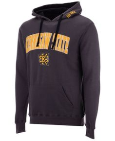 Colosseum Men s Kennesaw State Owls Arch Logo Hoodie - Gray XXL Kennesaw  State 96d06b7fc
