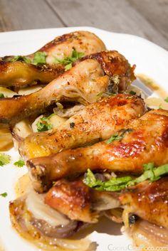 Muslitos de pollo al horno - Recetas paso a paso con fotos - Cocina Con Poco