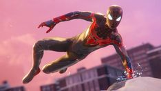 Character Modeling, Comic Character, Character Design, Marvel Heroes, Marvel Dc, Game Spider Man, Miles Morales Spiderman, Video Game Development, Man Games