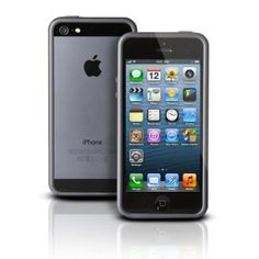Photive Hybrid iPhone 5 Bumper Case - Black. Designed for The New iPhone 5. Updated Lightning Port Cutout --- http://www.amazon.com/Photive-Hybrid-iPhone-Bumper-Case/dp/B0092TQHP2/?tag=Select your iphone
