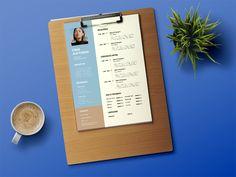 Free Flat Timeline CV Template for Job Seeker Resume Template Free, Free Resume, Resume Tips, Resume Design, Wow Products, Timeline, Lettering, Flat, Illustrator