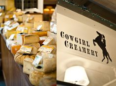 Cowgirl Creamery at Pt Reyes Station in Point Reyes Station, CA