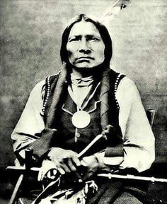 Little Big Man. Oglala Lakota. Late 1800s.