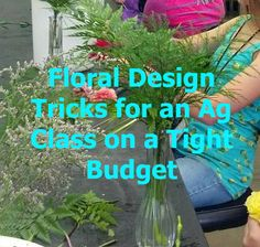 Sometimes you have to make your lesson work with what is available. Use these tricks to get more done with your floral design class. - OLT