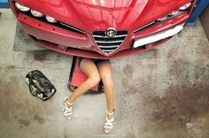 Its an Alfa, what else do you expect to be doing?
