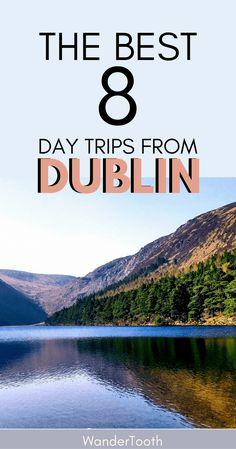 Best Day Trips from Dublin Pinterest Pin