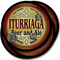 Iturriaga Beer & Ale - 4 pack Drink Coasters ZuWEE https://www.amazon.com/dp/B00PQNN41S/ref=cm_sw_r_pi_dp_x_fEaaybMGH3EJ3