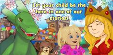 Create a Personal Book for Your Child! Personalised Childrens Books, Children Books, Your Child, Avatar, Presents, Hero, Create, Fictional Characters, Personalized Books For Kids