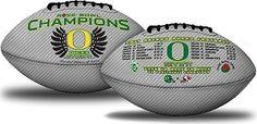 2012 Rose Bowl Champion Football - Oregon Ducks