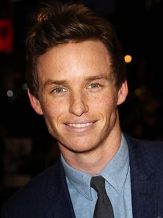 Eddie Redmayne wallpaper.. the blue would be soothing, and the professional attire would inspire the best in me to prep for work.