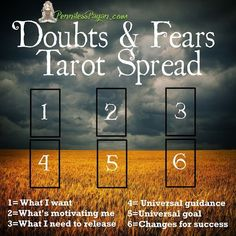 Tarot Spread: Doubts and Fears