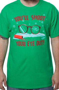 Shoot Your Eye Out Christmas Story T-Shirt
