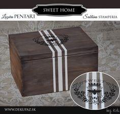 Decoupage, Sweet Home, Decorative Boxes, Home Decor, Decoration Home, House Beautiful, Room Decor, Home Interior Design, Decorative Storage Boxes