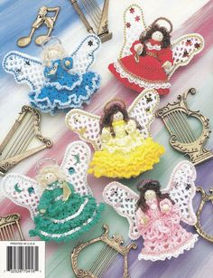 Christmas Clothespin Angels Crochet Patterns