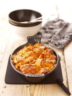 CARAMEL CROISSANT PUDDING with bourbon and cream!  Oh my GOD. Maybe Christmas morning?