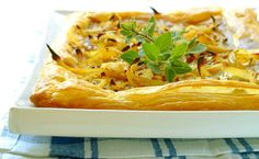 Roast Onion Tart recipe | Vegetables recipes | Whats For Dinner