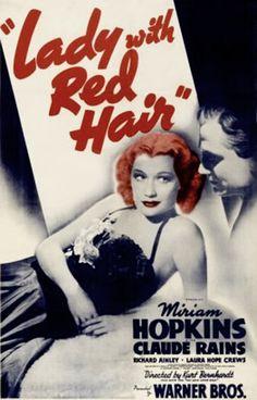 Lady With Red Hair (1940) - Miriam Hopkins, Claude Rains, Richard Ainley
