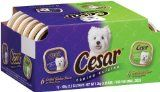 Cesar Canine Cuisine Variety Pack (Filet Mignon, Porterhouse Steak) for Small Dogs, Trays (Pack of Cheap Pet Supplies, Porterhouse Steak, Wet Dog Food, Chicken Flavors, Program Design, Grilled Chicken, Small Dogs, Dog Food Recipes, Your Dog