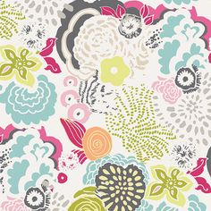 Decoupage Couleur fabric designed by Frances Newcombe for Art Gallery