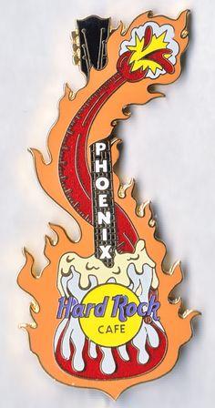 Guitar Pins, Hard Rock, Phoenix, Hard Rock Music