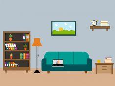 """Résultat de recherche d'images pour """"living room Flat art"""""""